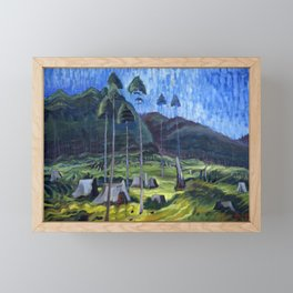 Emily Carr, Odds and Ends Framed Mini Art Print