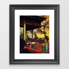 In any direction we look, for us there is always the sea Framed Art Print