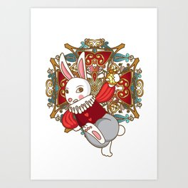 A Bunny's Tale Art Print