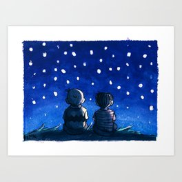 Now let's go inside, I'm beginning to feel insignificant.  Art Print