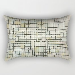 Composition in Line and Color - Piet Mondrian Rectangular Pillow