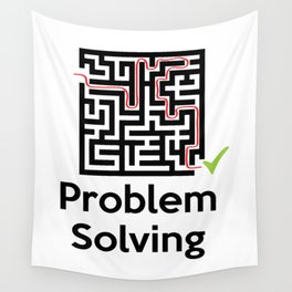 Problem Solving Maze Wall Tapestry