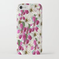 matty healy iPhone & iPod Cases featuring Spring Blossoms Abstract  by Judy Palkimas