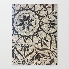 Floral Mosaic Canvas Print