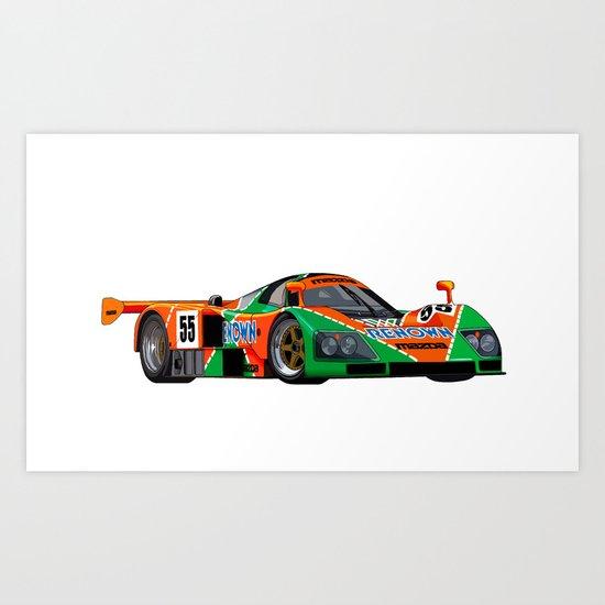 787B Art Print