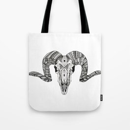 ARIES SKULL Tote Bag