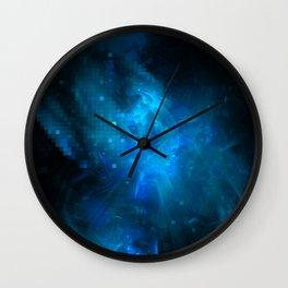 Cosmic Ocean Wall Clock