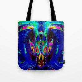 Dragon Dolphin Cave Tote Bag