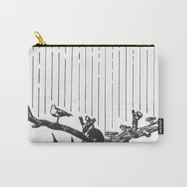 Seagulls in the Rain Carry-All Pouch