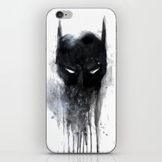Bat Man fan art iPhone Skin