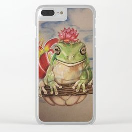 Wise Frog Clear iPhone Case