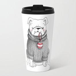 Dexter's Christmas Travel Mug