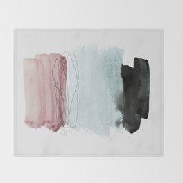 minimalism 4 Throw Blanket
