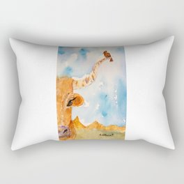 Resting Stop Rectangular Pillow