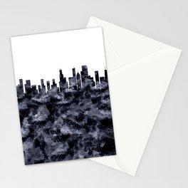 Chicago Skyline Illionois Stationery Cards