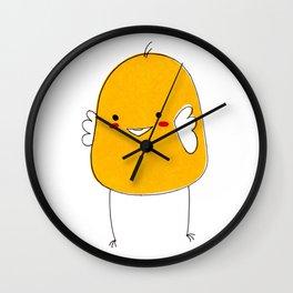 Cute Little Chick Wall Clock