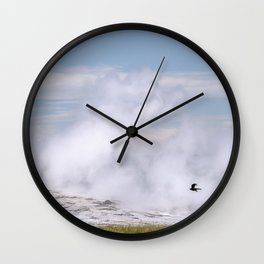 Old Faithful Fly By Wall Clock