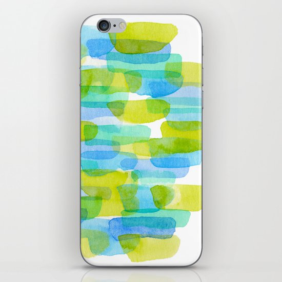 Watercolor 001 iPhone & iPod Skin