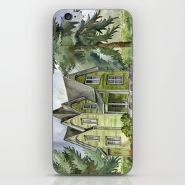 The Green Clapboard House iPhone Skin