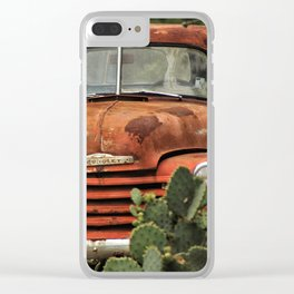 Chevy, Cactus Clear iPhone Case