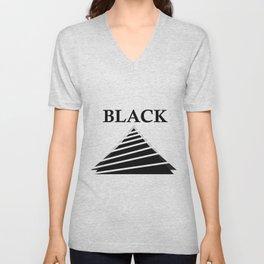 off-Black Unisex V-Neck