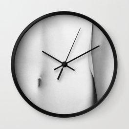 Hot girl Wall Clock