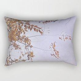 """Autumn dreams......"". Purple. Rectangular Pillow"