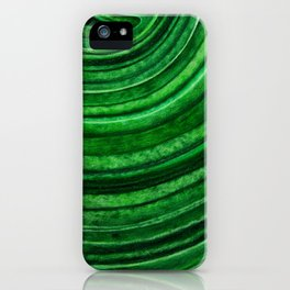 Green Malachite Mineral iPhone Case
