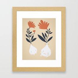 Bulbs Framed Art Print