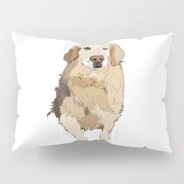 Golden Retriever dog Pillow Sham