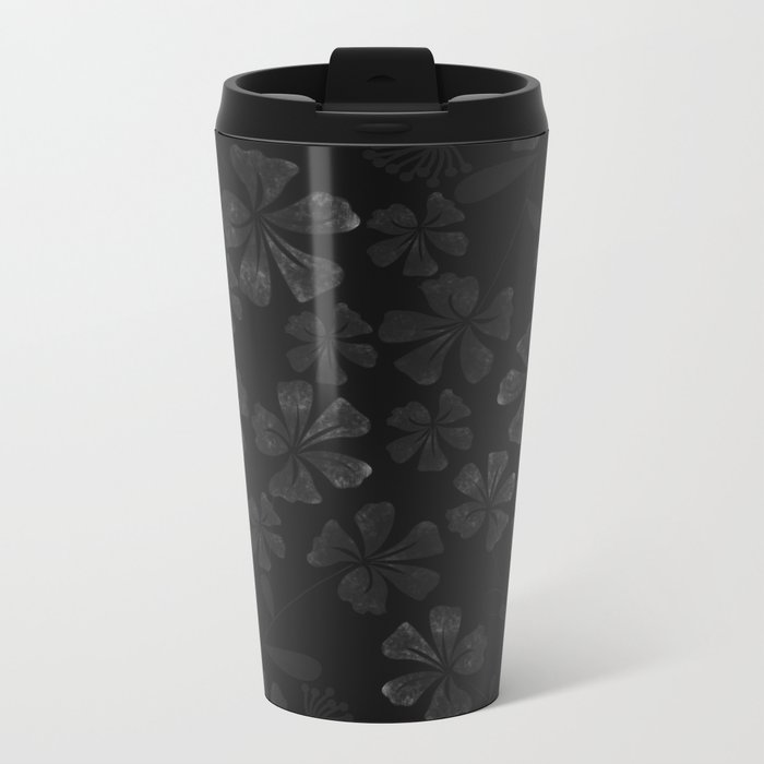 Flower..9 Metal Travel Mug