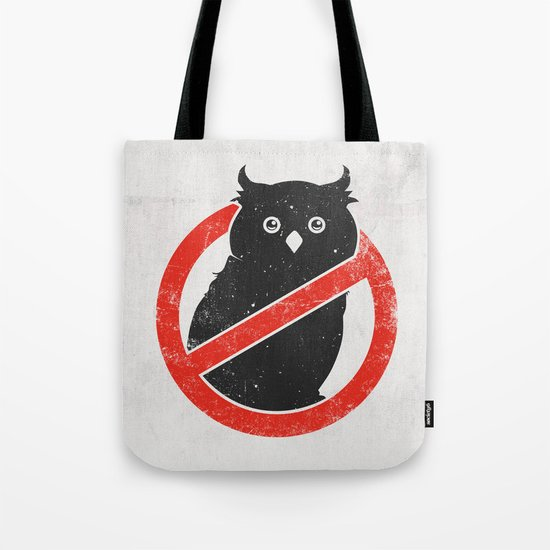 No Owls Tote Bag