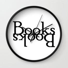Books // Books Wall Clock