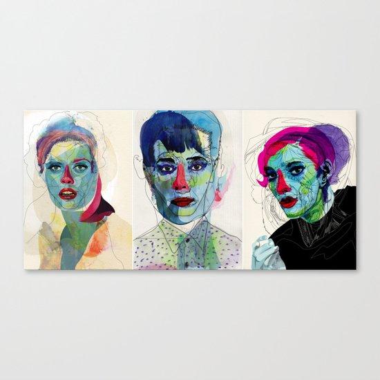 triptico Canvas Print