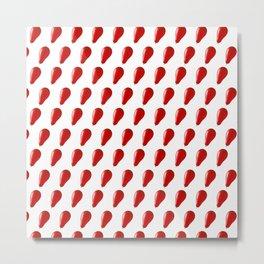 Red balloons. Metal Print