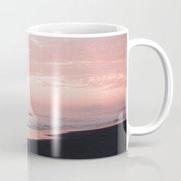 Blush Sunset Surfers Coffee Mug