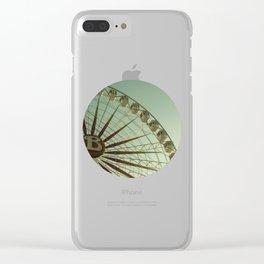 Random big wheel Clear iPhone Case