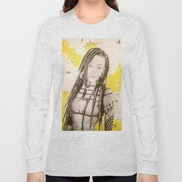 Sunlit Woman Long Sleeve T-shirt