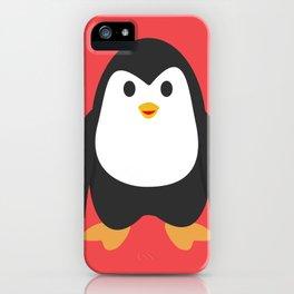 Penguin Happy iPhone Case