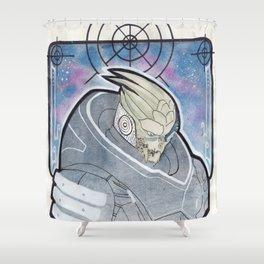 Garrus Vakarian Shower Curtain