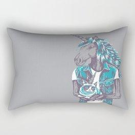 Awkward Unicorn Rectangular Pillow