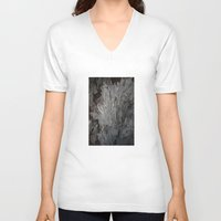crystal V-neck T-shirts featuring Crystal by studio wolkowicz