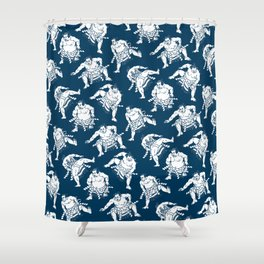 Some Sumo Shower Curtain