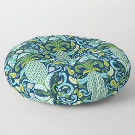 Ambrosia Blue Floor Pillow