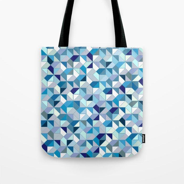Geometrica (blue) Tote Bag