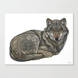 Norse Wolf Canvas Print