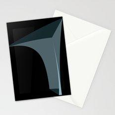 Deep Black Stationery Cards
