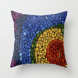 Chakra Swirl Throw Pillow