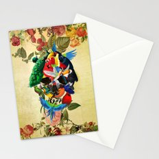 Avian skull Stationery Cards