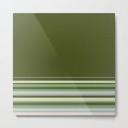 Simple, striped pattern, stripes, bright, striped background, multicolored, creative, elegant Metal Print